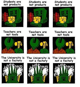 University not a Factory