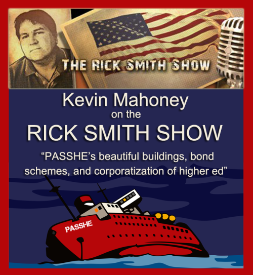 Mahoney on Rick Smith PASSHE Bond Schemes 10-22-13