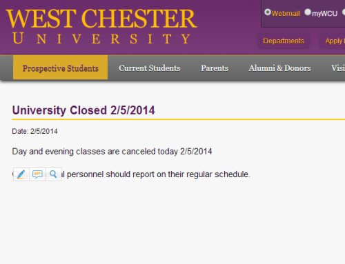 West Chester Closed
